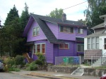I always seem to find a purple house everywhere I go these days...