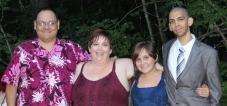 my family cropped tia's wedding